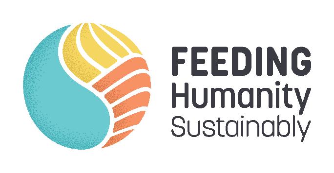 Nourrir l'humanité durablement - Logo